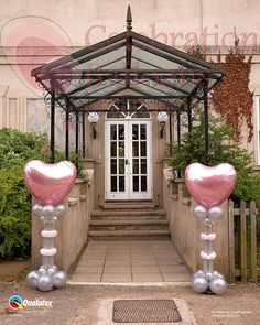 Wedding balloons from www.rothwellballoons.co.uk