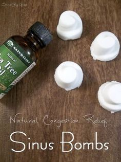 Natural Sinus Relief Sinus Bombs- colds and flu got you stuffed up? try these natural congestion relief sinus bombs. Easy to make! Cold Remedies, Natural Home Remedies, Natural Healing, Herbal Remedies, Health Remedies, Natural Oil, Sinus Remedies, Holistic Healing, Bloating Remedies