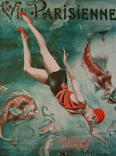Illustration by Cheri Herouard For La Vie Parisienne 1930