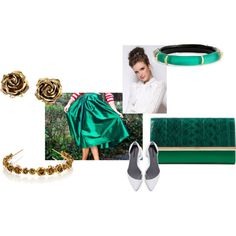 #modli #summer #teal #green #gold #clutch #white #skirt #summer #bracelet #shoes #rose #modest #fun #teen #earrings #bow #elegant