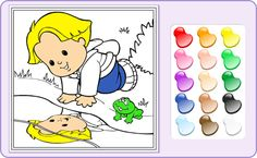 Free Coloring Games Online Luxury Coloring Games Line Little People Baby Games by Fisher Free Online Coloring, Free Coloring, Coloring For Kids, Coloring Books, Baby Games, Design Reference, Good Company, Little People, Online Games
