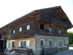 Style of Log house, called blockbau, can still be seen in Bavaria.  - Wikipedia, the free encyclopedia