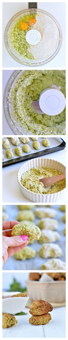 Those Baked cauliflower nuggets take 10 minutes to prepare, 20 minutes to bake and are super heathy as finger food dinner, appetizers or for kids lunchbox. It is moist and crispy! Dairy free and low carb with a gluten free and paleo recipe option. #paleo #lunchbox #kids #toddlerfood #recipe #food #fingerfood #cauliflower #appetizers #broccoli #lowcarb #dairyfree #nuggets #vegetable #quick #dinner