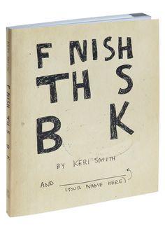Finish This Book   Mod Retro Vintage Books   ModCloth.com