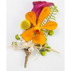 corsage ❤ liked on Polyvore