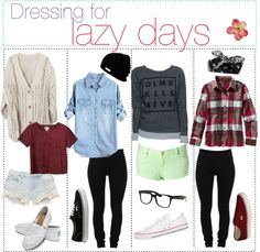 """For those laazy days :3"" by the-polyvore-tipgirls ❤ liked on Polyvore"