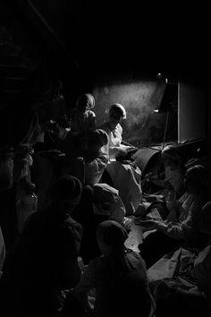 Fotografía en Blanco y Negro de Raúl Vidal.