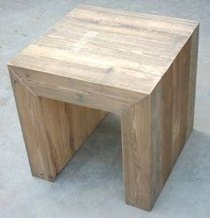 Custom Made n stool