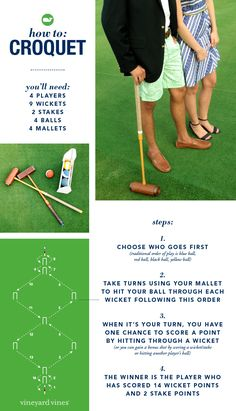 How-to: Play Croquet!