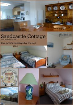 Sandcastle Cottage, Crail - East Neuk of Fife - Scotland. For family holidays by the Scottish seaside.  More info at: http://www.2crail.com or click on the photograph to find out more.