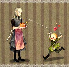 """nyangsam: """" Haldir ♡ Legolas :3c """""""