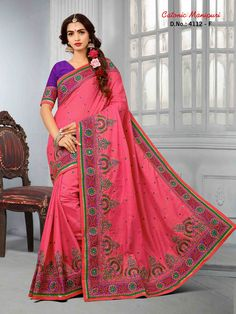 81e7179b17099b 15 Best 2669 Seasons Collection Party Wear Saree images