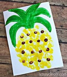 A collection of 12 Favorite Easy Summer Crafts for Kids. Ideas for bubble painting, fingerprint pineapple, watermelon slime, and popsicle stick s'mores. Easy Arts And Crafts, Arts And Crafts Projects, Arts And Crafts Supplies, Summer Art Projects, Toddler Art, Toddler Crafts, Preschool Crafts, Kids Crafts, Decor Crafts