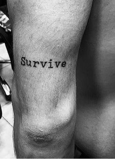 [LAST CALL] You don't want to miss this incredible deal Survival Tattoo, Survival Quotes, Tattoo Quotes, The Incredibles, Tattoos, Tatuajes, Tattoo, Japanese Tattoos, A Tattoo