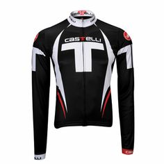 Castelli Free FZ Long Sleeve Jersey - Castelli Cycling Clothes, Cycling Outfit, Road Bike Jerseys, Bicycling, Motorcycle Jacket, Porn, Long Sleeve, Sleeves, Jackets