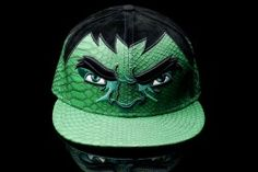 505731a2460c6 New Era 59FIFTY  Avengers Age of Ultron  Collection The Incredible Hulk -  Green Purple