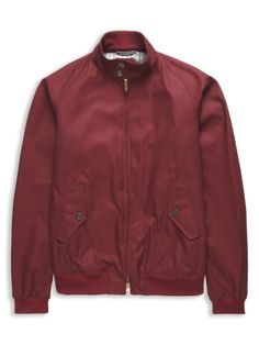 Ben Sherman - Red Duke Street Foundry Harrington Jacket - 225,00 €