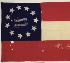 7th Georgia Infantry flag. :: Alabama Photographs and Pictures Collection