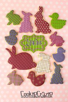 CookieCrazie: Easter 2014 Cookie Collection