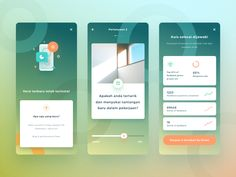 Education App Exploration graph dashboard stats quiz fresh gradient modern layout cards ux ui ios 11 Quiz Design, App Ui Design, Resume Design, Design Web, Online Web Design, Web Design Quotes, Mobile App Ui, Flat Illustration, Work Inspiration
