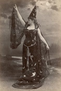 Mlle Urquhart. 1880s. This is everything i have ever wanted in a halloween costume!