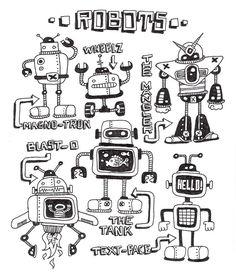 robots by ArtByAlexChiu.deviantart.com on @deviantART