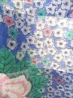 ☆ New Arrival ☆ 'June Bride' #charming #womens #blue #silk blend #kimono #white #peony & #floral #design from #FujiKimono http://www.fujikimono.co.uk/fabric-japanese/june-bride.html #junebride #textile #costume #fashion #kawaii #cosplay