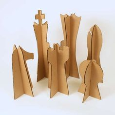 Dismountable Chess Pieces for the garden. mohalluk