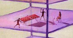 """Edificio transparente 2 "", acrylic on canvas, 100 x 70 cm. #followart #popsurrealism"