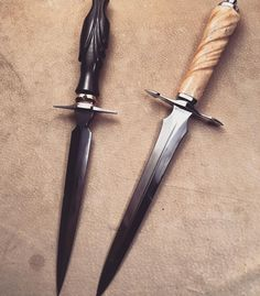Morgan's daggers.