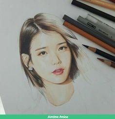 Kpop Drawings, Art Drawings, Instagram Cartoon, Korean Painting, Beautiful Fantasy Art, Fan Art, Color Pencil Art, Realistic Drawings, Kpop Fanart