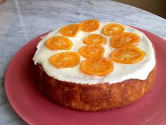 Walter Mitty's yummy Clementine Cake - almonds, eggs, clementines and sugar (no flour!)