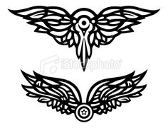 Vector Wings 2 Royalty Free Stock Vector Art Illustration