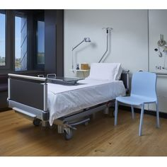 Hygienic healthcare chair on show at furniture HQ Construction News, Industrial Furniture, Health Care, Toddler Bed, Chair, Architecture, Building, Public, Home Decor