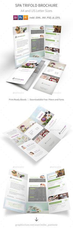 spa brochure templates free - preschool trifold brochure brochures preschool and