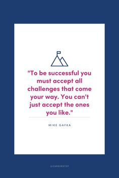 No success without the struggles. No reward without the challenges.
