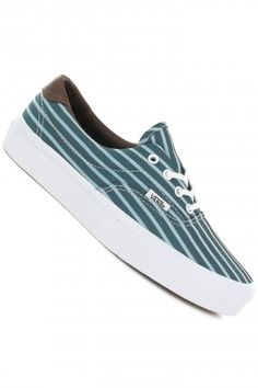 Vans Era 59 Shoe women (stripes blue true white) | #skatedeluxe #sk8dlx #vans