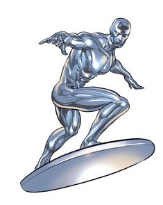 Silver Surfer by Mike Deodato Jr. Comics Anime, Marvel Comics Art, Marvel Comic Books, Comic Book Characters, Comic Book Heroes, Marvel Characters, Marvel Heroes, Comic Character, Comic Books Art