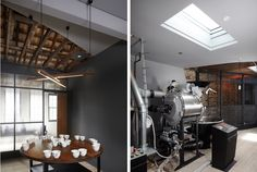 Home - Ideas to steal Exterior Design, Interior And Exterior, Fluorescent Lamp, Coffee Travel, Surrey, Design Projects, Interior Architecture, Furniture Design, Kitchen Appliances
