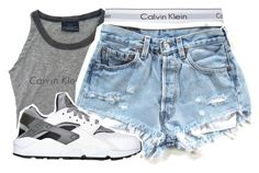 """""""Untitled #336"""" by canttrustthots ❤ liked on Polyvore featuring Calvin Klein and NIKE"""