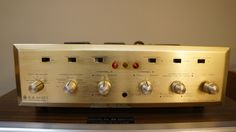 H.H. Scott 299C tube integrated amplifier - Photo1046696