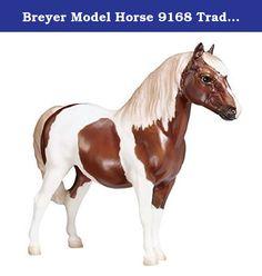 Breyer Model Horse 9168 Traditional Size Pinto Shetland Pony, Best of British. Traditional.