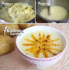 Yoğurtlu Patates Çorbası Tarifi