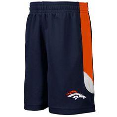 Denver Broncos Toddler Kick Off Mesh Shorts - Navy Blue