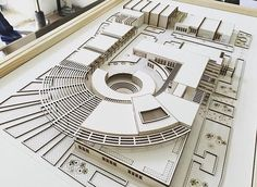 "2,067 curtidas, 20 comentários - Art & Architecture (@architects_need) no Instagram: ""#amazing #maquete #model By @arsheet_group """
