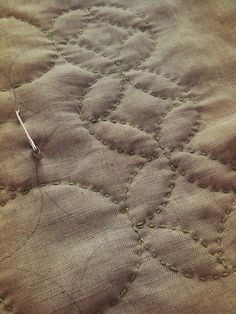 Lovely hand quilting