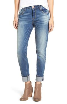 Free shipping and returns on STS Blue 'Taylor Tomboy' Distressed Boyfriend Jeans (Temecula) at Nordstrom.com. The perfect rugged counterpoint to an otherwise polished look, these cotton-blend jeans are made with a classic five-pocket design, gentle fading and cool shadow creases. The versatile pair is finished with on-trend cuffed hems.
