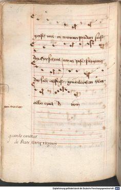 Mönch von Salzburg. Oswald von Wolkenstein: Geistliche Lieder mit Melodien Bayern/Österreich, erste Hälfte 15. Jh. Cgm 715  Folio NP