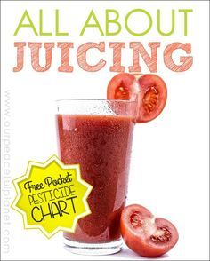 If you've ever thought about doing a juice fast this article will give you the basics including juicer suggestions. It's full of tips and ideas and lets you know what you can expect. There's also a free printable pesticide list!  Even if you just want to add fresh juice to your diet this is well worth the read.