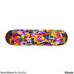 Revol abstract patines
